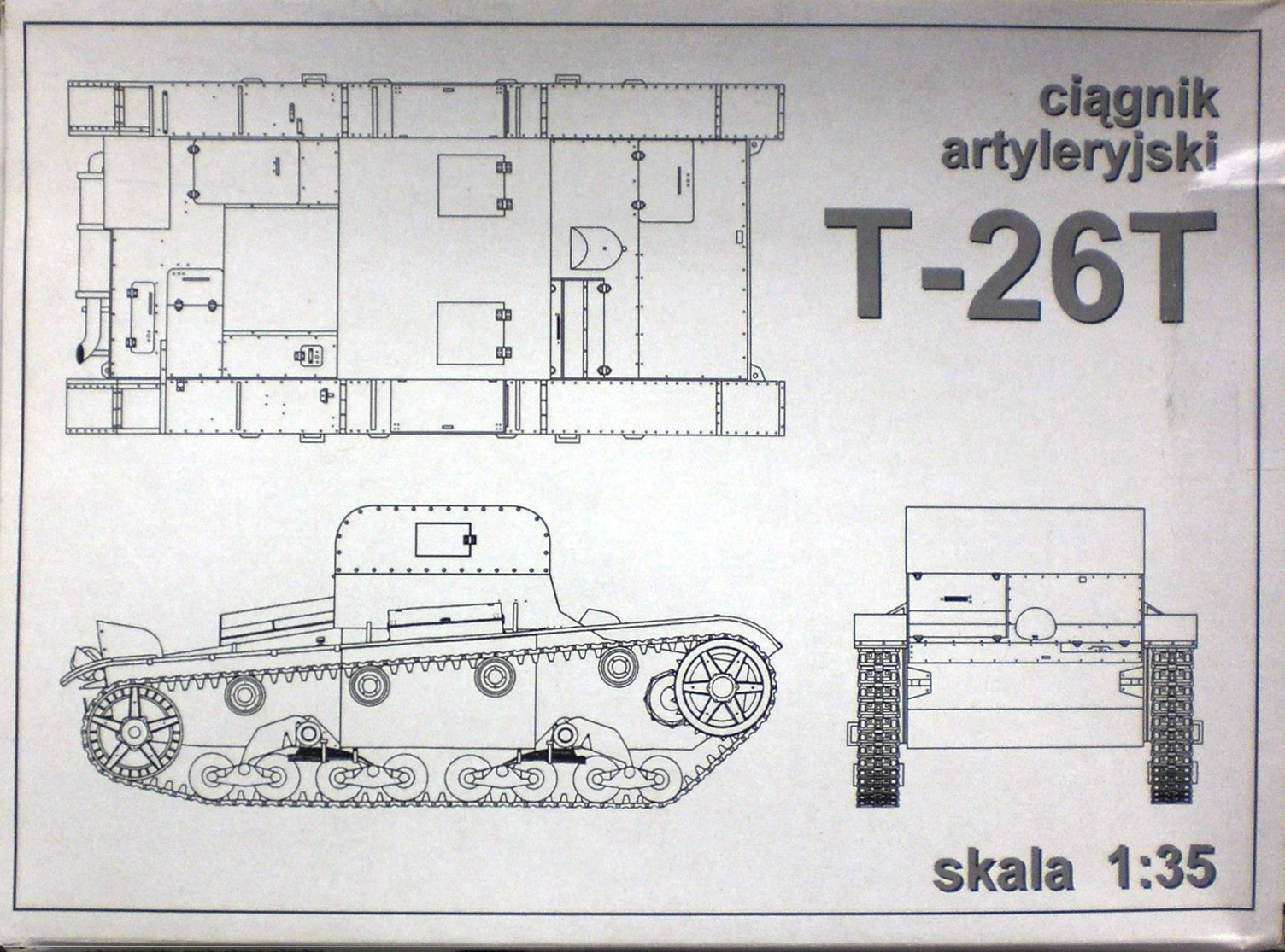 35018 Artillery Tractor T-26T Image