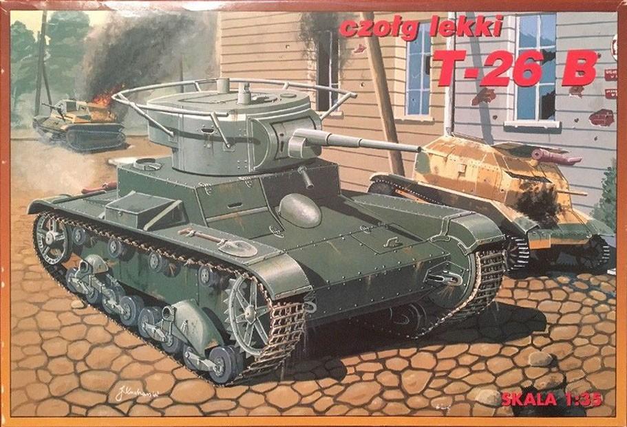 35024 Light tank T-26B Image