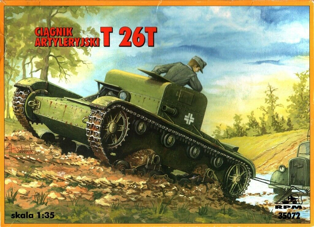 35072 Artillery Tractor T 26T Image