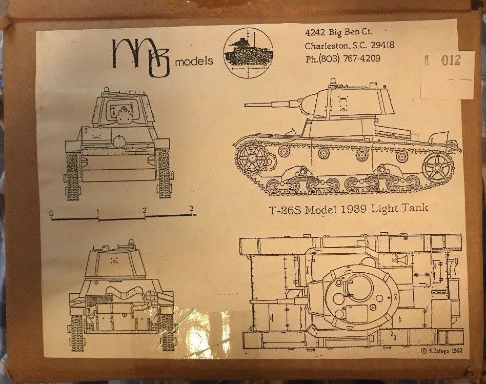 T-26S Model 1939 Light Tank Image
