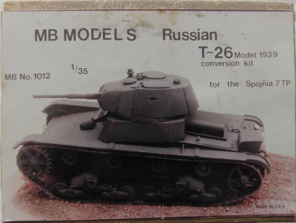 1012 Russian T-26 Model 1939 Image