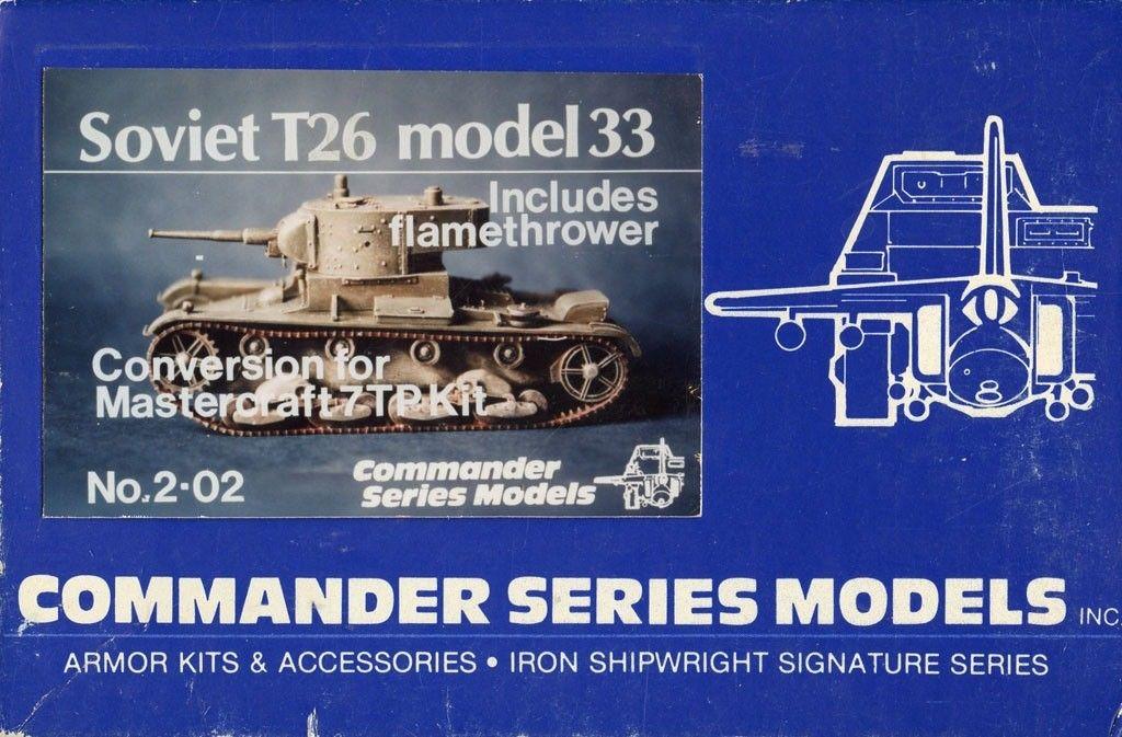 2-02 Soviet T26 model33 Image