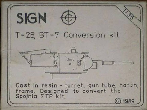 T-26, BT-7 Conversion Kit Image