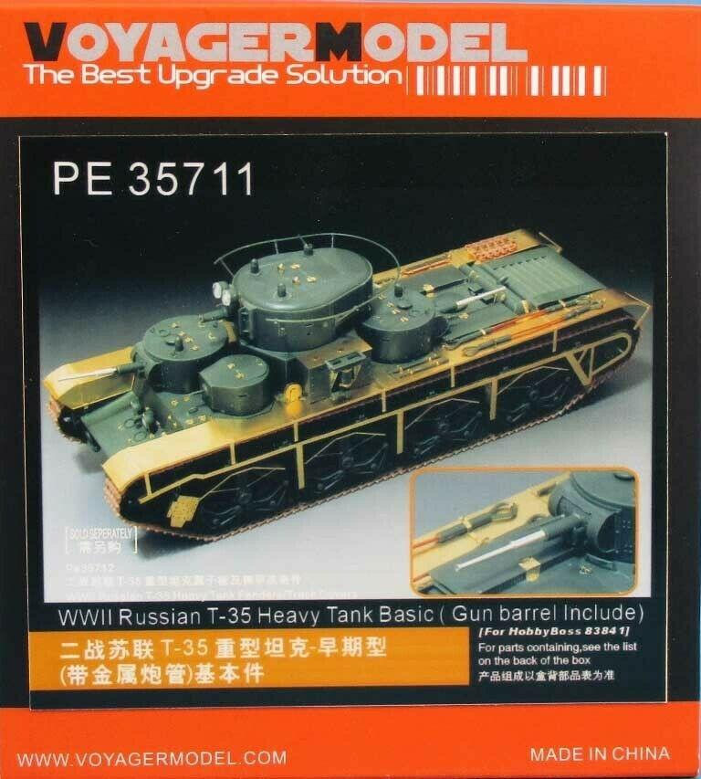 PE35711 T-35 Heavy Tank Basic Image