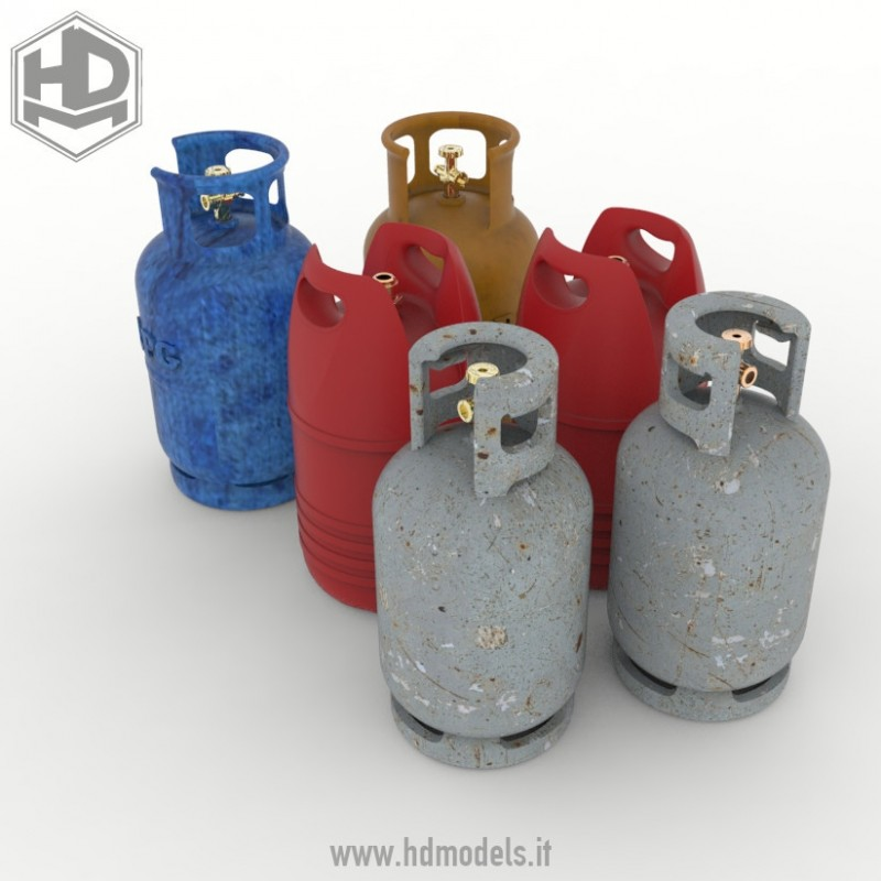 HDMD35084 gas cylinder Image