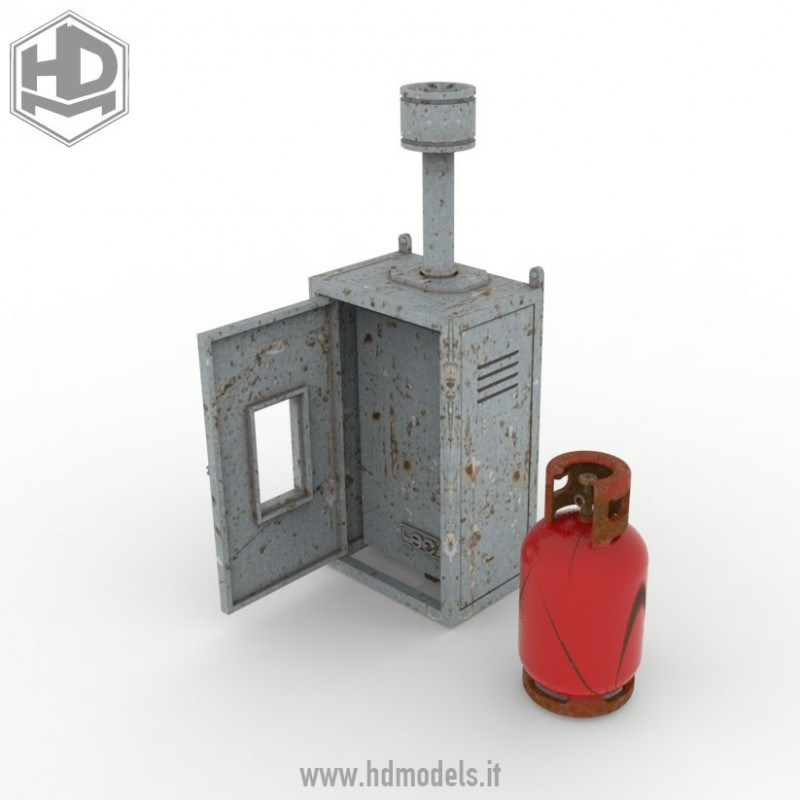 HDMD35085 Central Heating w/Gas Cylinder Image