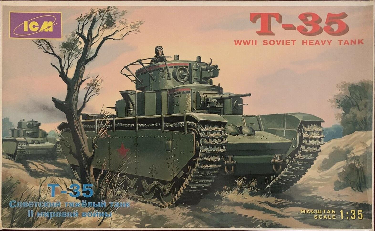 35041 T-35 Soviet Heavy Tank Image