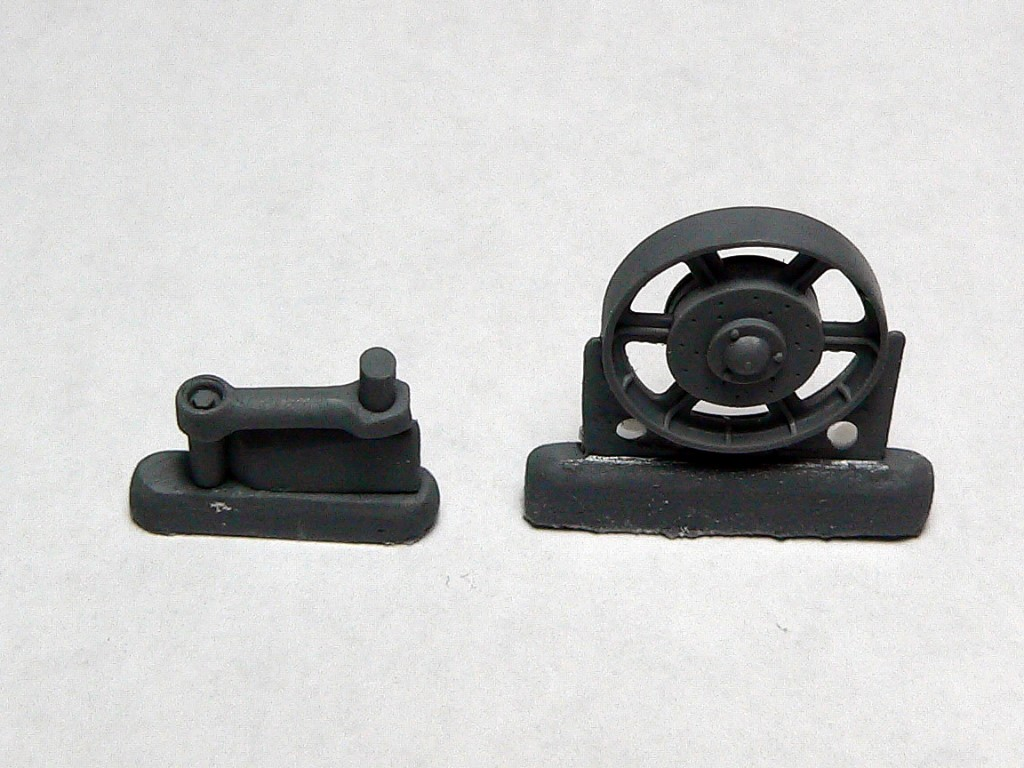 Track rollers and balance beams for T-60 by plant No. 264 Image