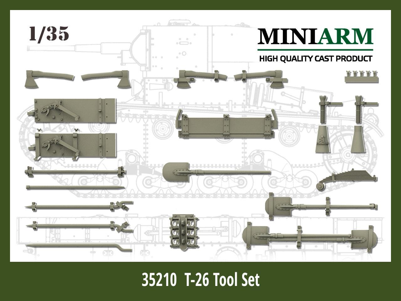 35210 T-26 Tool Set Image