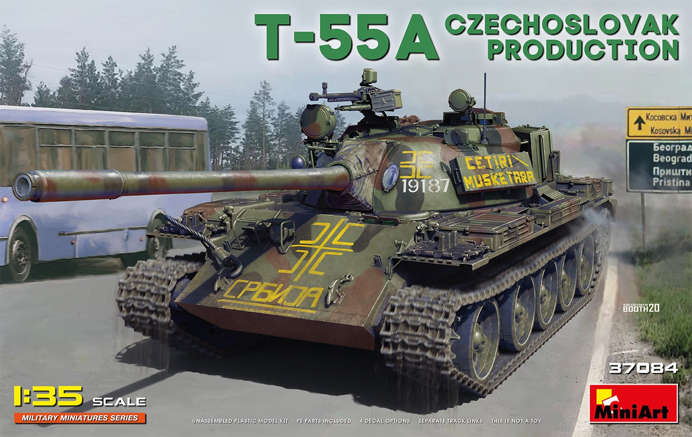 37084 T-55A Czechoslovak Production Image