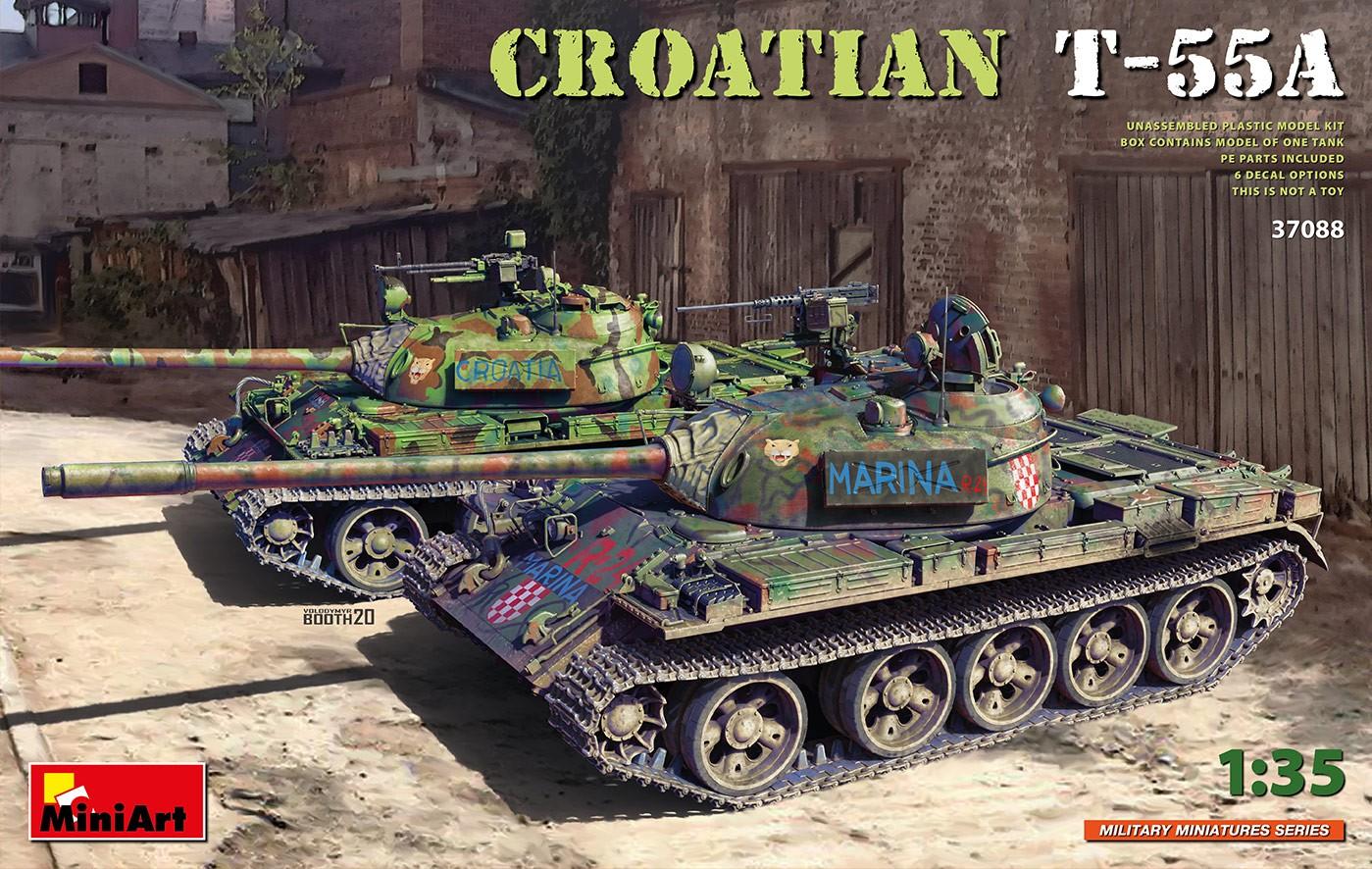 37088 Croatian T-55A Image
