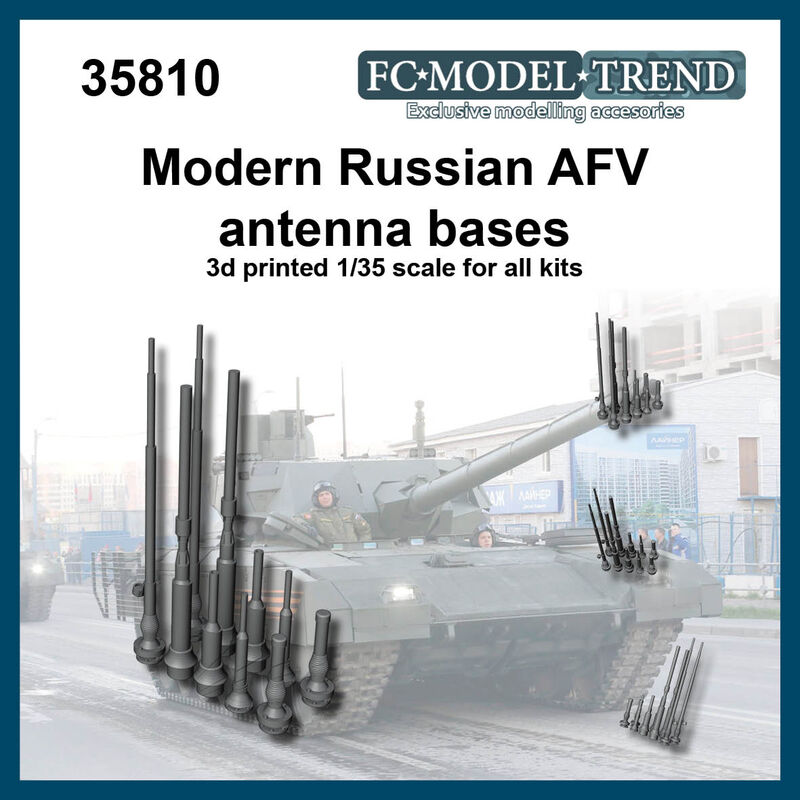 35810 Modern Russia AFV antenna bases Image